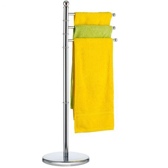 Tatkraft Breeze 3 arms Free-standing Bath Towel Stand