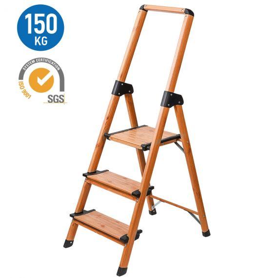 Tatkraft Upstairs Step Ladder Wood Design