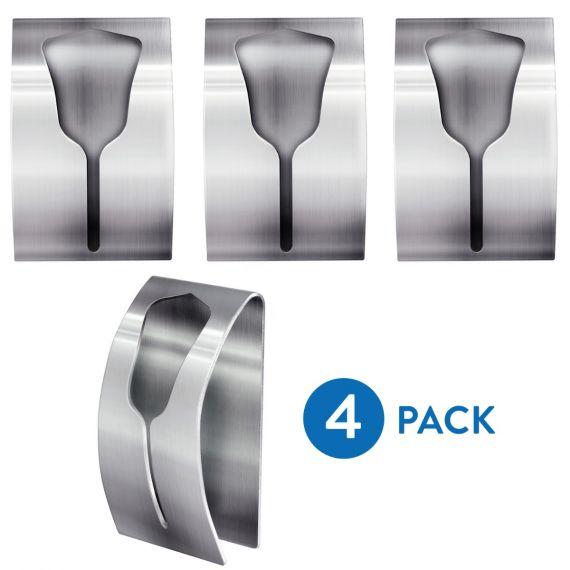 Tatkraft Ida Adhesive Towel Rack Set Of 4