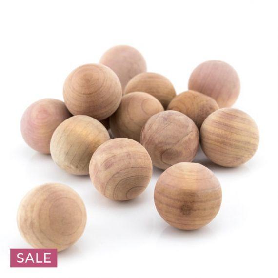 Natural Anti-Moth Cedar Wood Balls