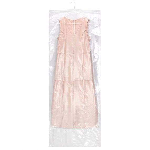 Clear Polythene Clothes Covers for Trousers and Skirts - 137cm - 54""