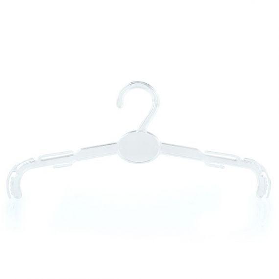 Clear Plastic Bra Hangers – 27cm