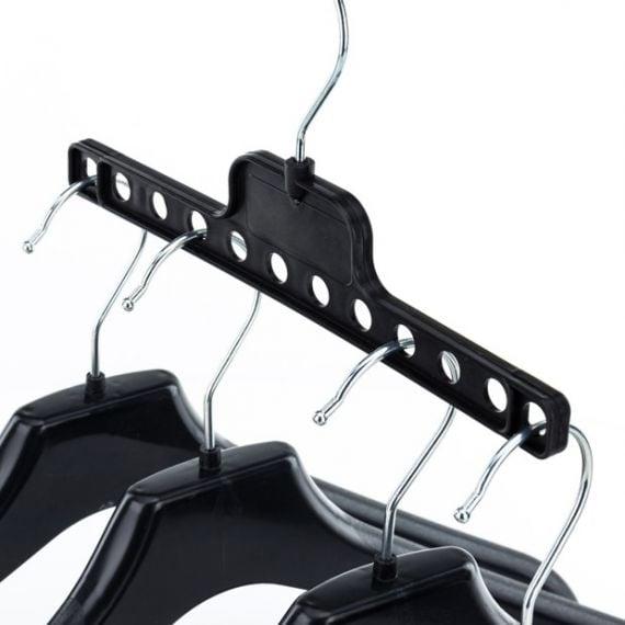6 Wardrobe Space-Saving Multiple Hangers- 22.5cm