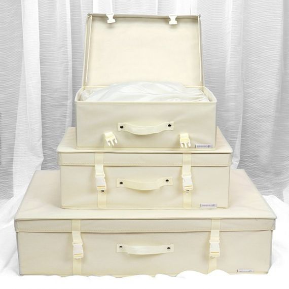 Wedding Dress Storage Boxes & 10 Paper Tissues
