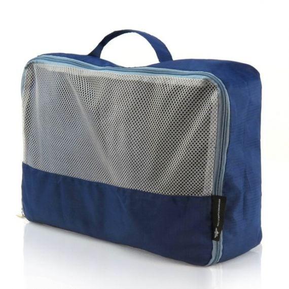 Large Breathable Zipped Travel Clothing Storage Bag