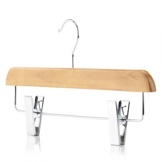 Premium Wooden Clip Hangers - 36cm