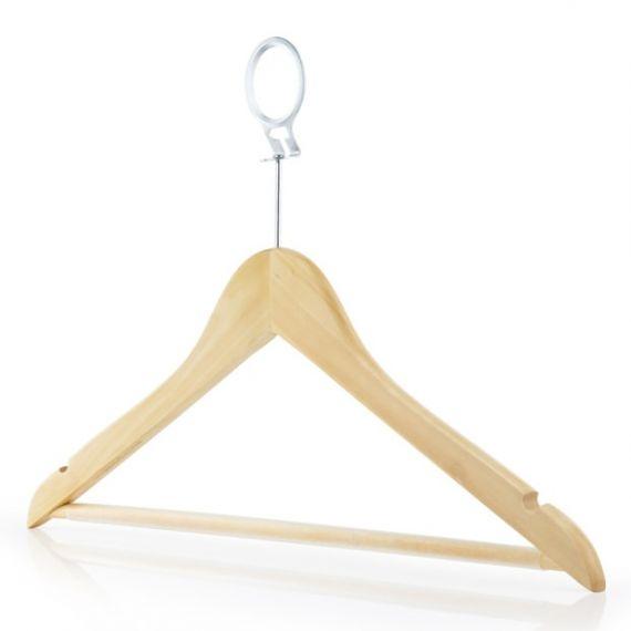 Wooden Hotel Bar Hangers - 45cm
