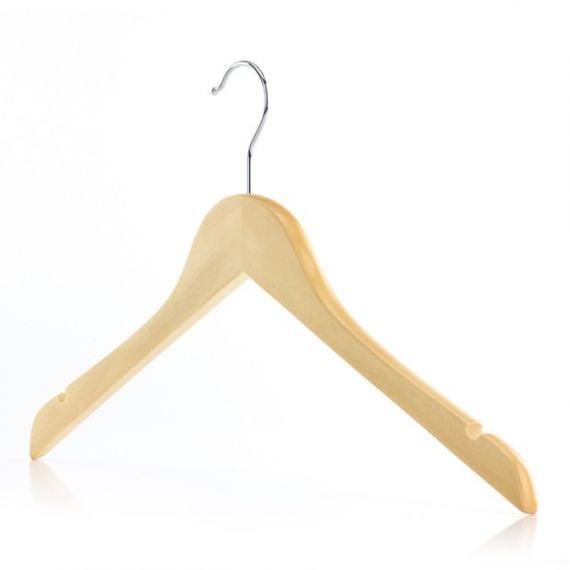 Wooden Top and Jacket Hangers - 45cm
