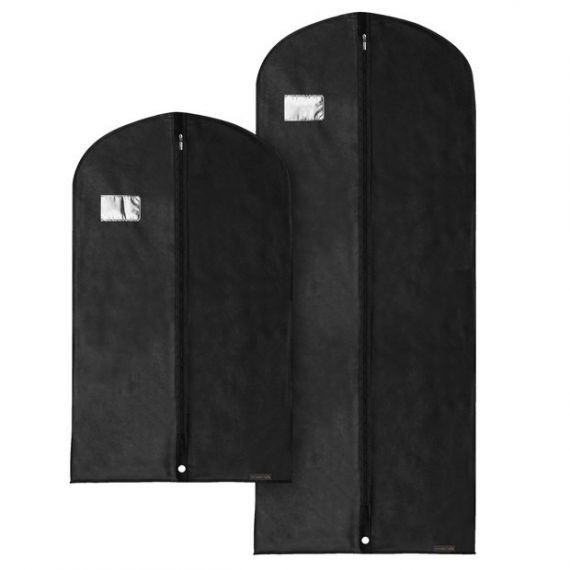 "Combination Pack of Breathable Garment Covers - 101cm & 152cm - 40"" & 60"""