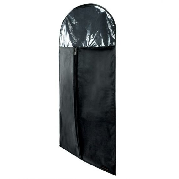 Black Suit Cover with Transparent Top - 107cm - 42''