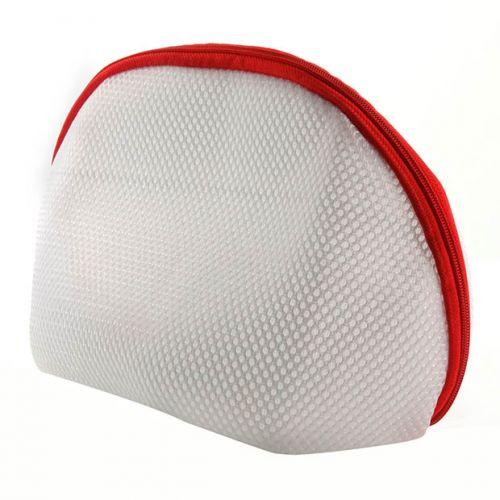 White Lingerie Laundry Bag Pouch