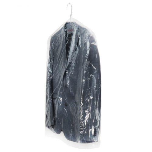 "Clear Polythene Clothes Covers - 80 Gauges - 102cm - 40"""