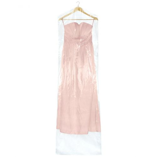Clear Polythene Clothes Covers for Very Long Garments & Curtains - 100 Gauges - 213cm - 84""