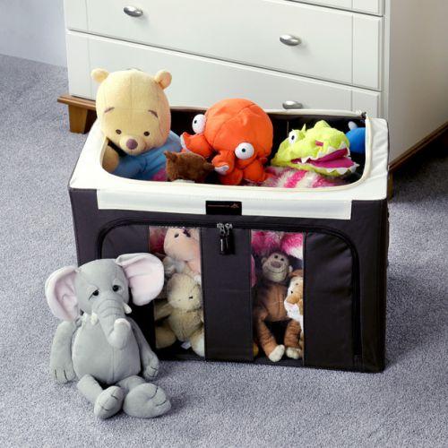 Large Zipped Bedding Storage Organiser Box