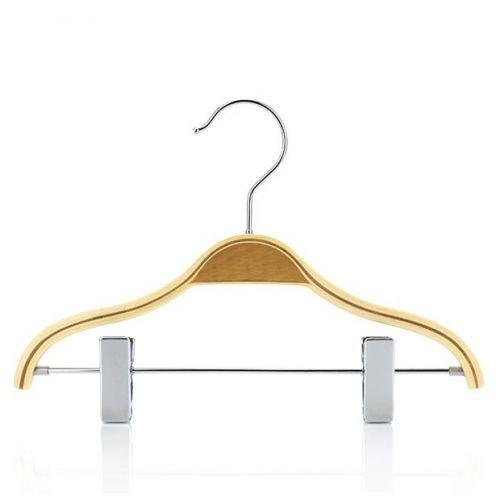 Scandi Laminated Children's Wooden Clip Hangers – 27cm