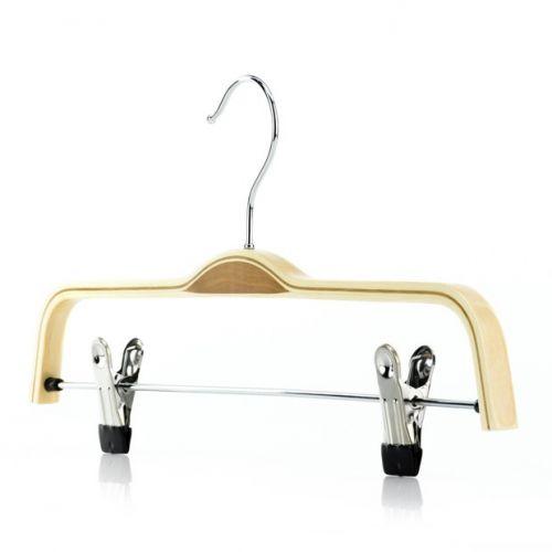 Scandi Laminated Wooden Clip Hangers – 37cm