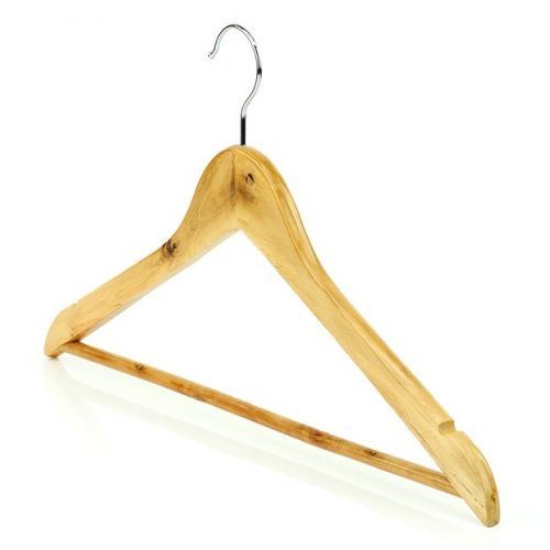 Simply Essential Value Wooden Bar Hangers - 45cm