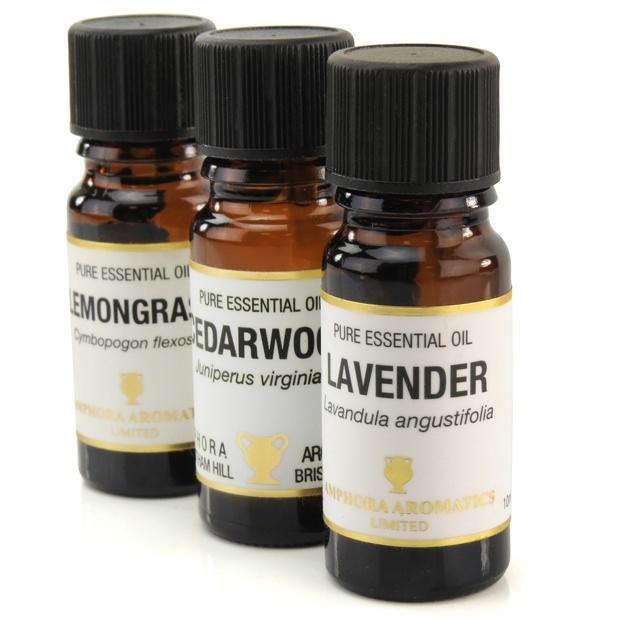 Essential Oils - Lavender - Lemongrass & Cedarwood