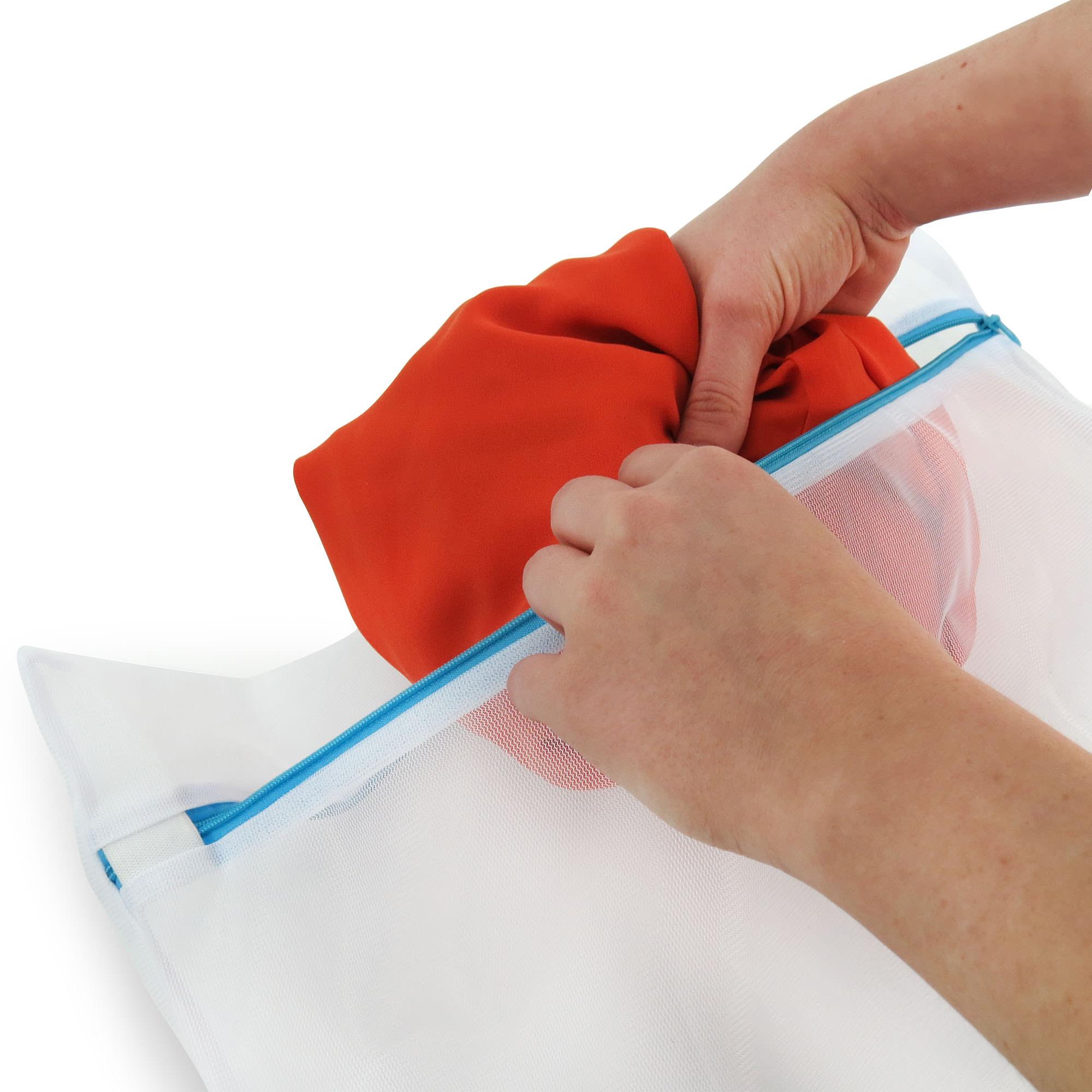 Set Of 7 Mesh Laundry Bags Hangerworld