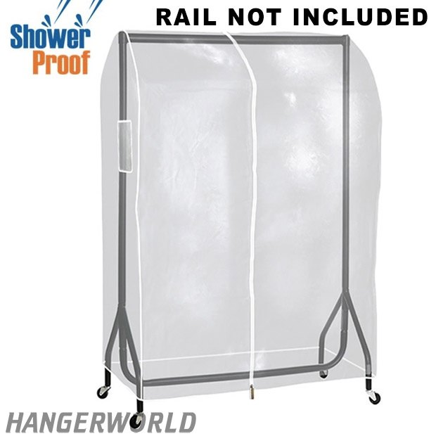 Transparent Showerproof Clothes Rail Cover - 3ft