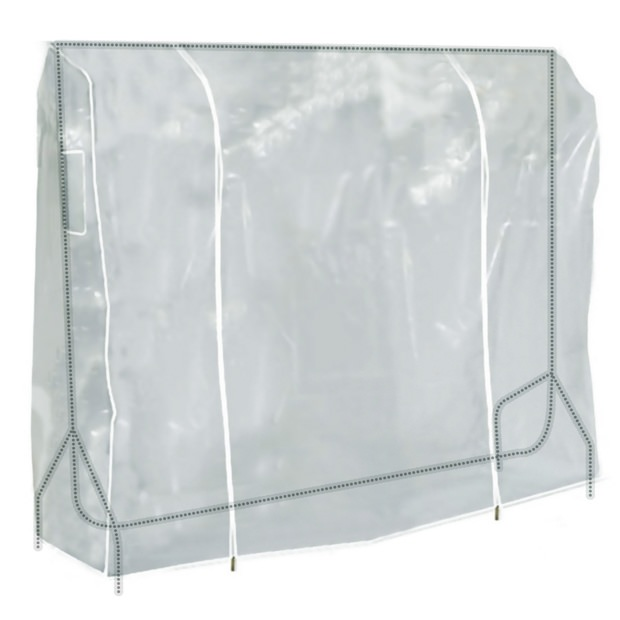 Clear Showerproof Garment Rail Cover - 6ft