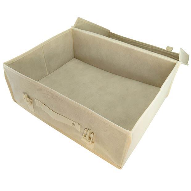 ivory garment storage boxes hangerworld. Black Bedroom Furniture Sets. Home Design Ideas