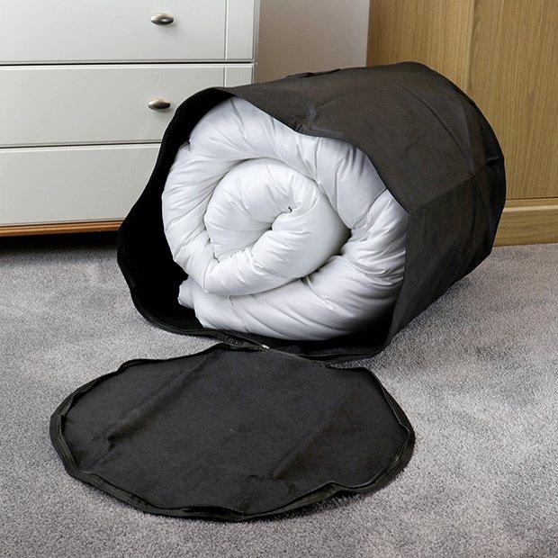Large Black Breathable Storage Bag