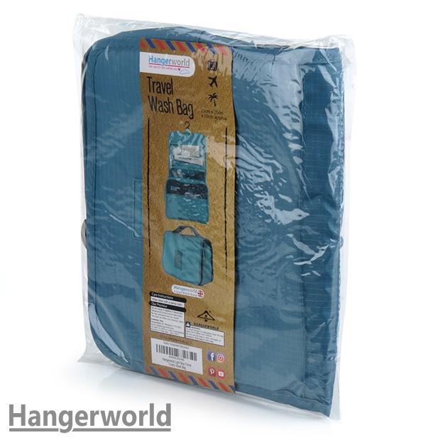 Blue Toiletry Bag Hangerworld