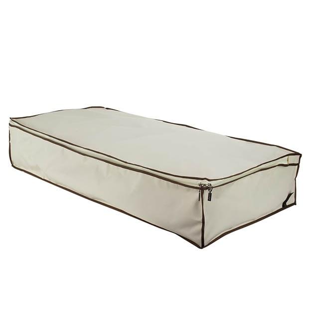 Strong Under Bed Storage Chest - Cream u0026 Black  sc 1 st  Hangerworld & Strong Underbed Storage - Hangerworld