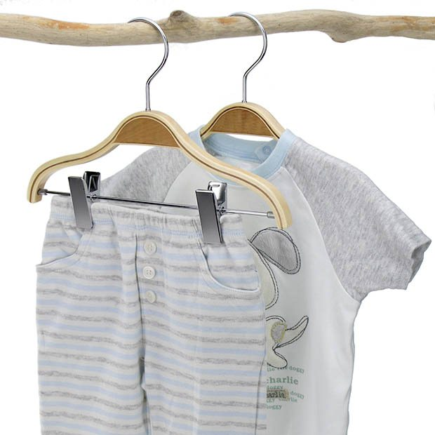 27cm Laminated Children S Hangers Hangerworld