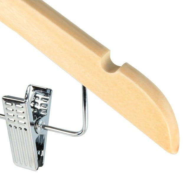 Natural Clip Hangers 45cm