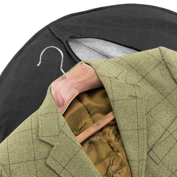 Luxury Extra Wide Cedar Wood Suit Hanger - 50cm