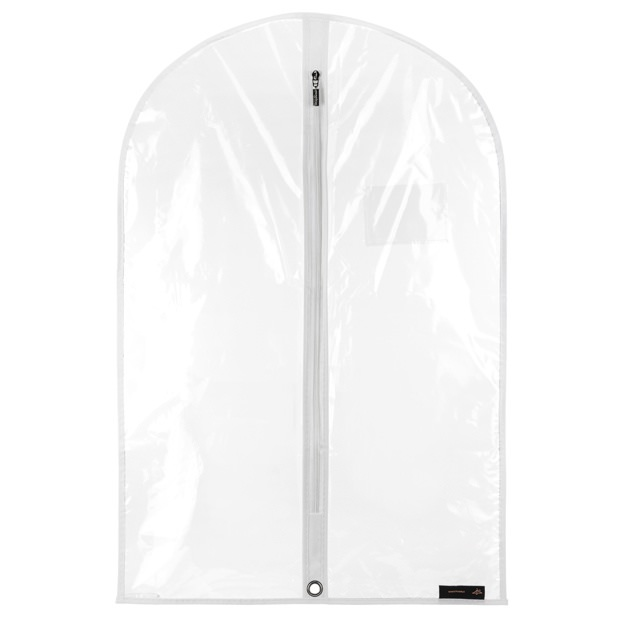 Clear Showerproof Garment Cover - 30 Inches