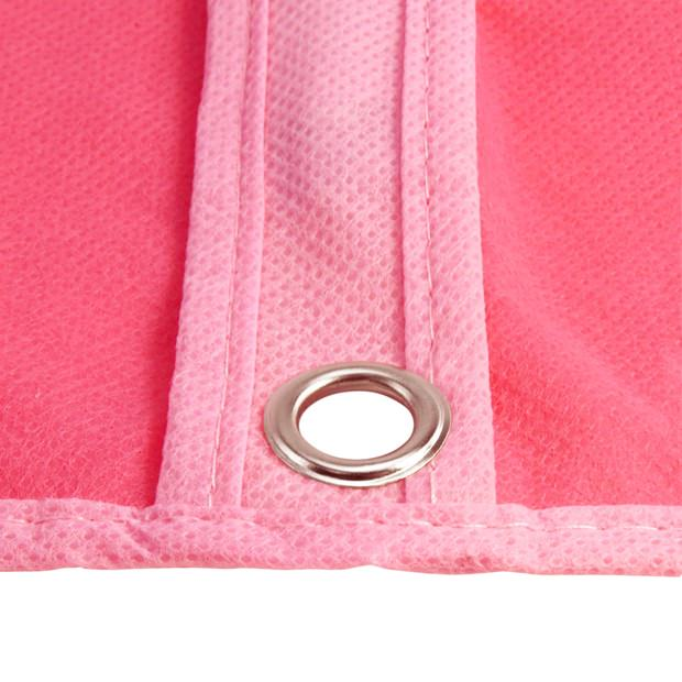 Pink Breathable Clothes Cover - 38 Inches