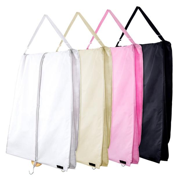 Details About Hangerworld 72 Xl Wedding Prom Dress Cover Garment Bags Bridal Travel Carrier