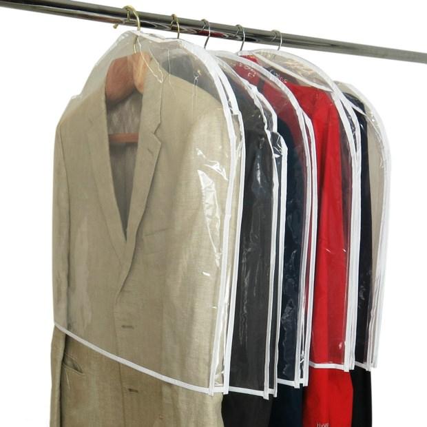 Large Clear Showerproof Shoulder Covers