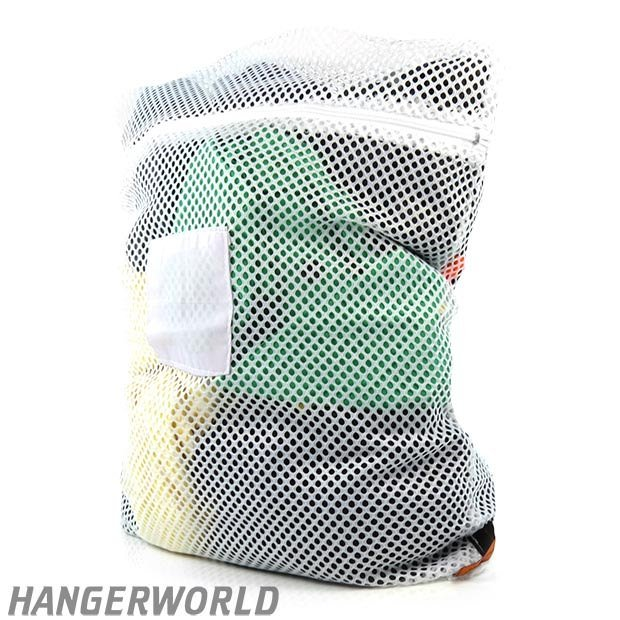 Commercial Laundry Net Bag with Zip Fastener