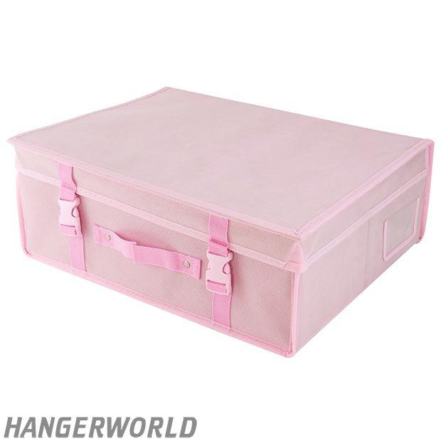 pink garment storage boxes hangerworld. Black Bedroom Furniture Sets. Home Design Ideas