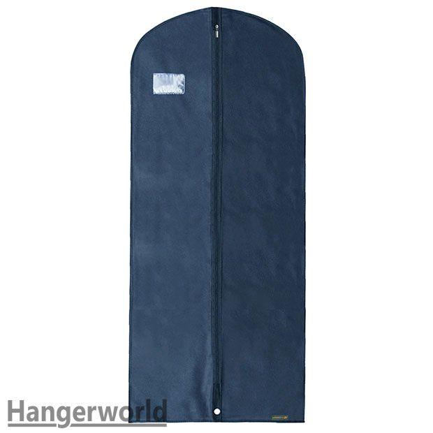 hangerworld housse 137cm bleue respirante fermeture zip. Black Bedroom Furniture Sets. Home Design Ideas
